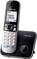 Радиотелефон Panasonic KX-TG6811RUB Black