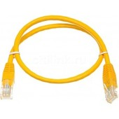 Сетевой кабель Patch cord 5E Copper 0.5m Yellow